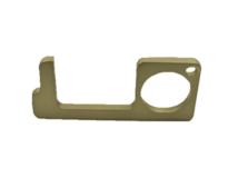Antimicrobial No-Touch Key - Brass